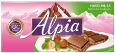 Alpia Alpenmilch Schokolade Haselnuss 100g