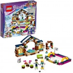 Lego Eislaufplatz im Wintersportort