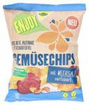 Kühne Enjoy Gemüsechips Rote Bete, Pastinake & Süßkartoffel mit Meersalz