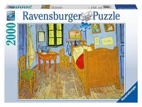 Ravensburger 16684 Van Goghs Schlafzimmer in Arles, 2000 Teile Puzzle