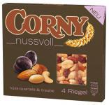 Corny nussvoll Nuss - Quartett und Traube, 4 Riegel, 96 g