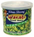 Khao Shong thailändische Knabberspezialitäten Dicke Bohnen mit Wasabi 140g