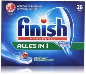 Finish Calgonit Alles in 1, Spülmaschinentabs, 26 Tabs