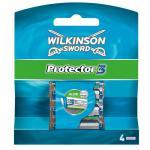 Wilkinson Sword Protector 3 Klingen, 4 Stück