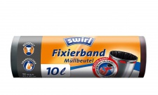 Swirl 10l Fixierband-Muellbeutel 4er Pack