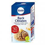 Backoblaten / Oblaten (50 mm / 100 Stück) VEGAN