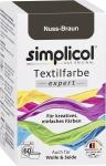 Simplicol Textilfarbe Nuss Braun