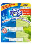 WC Frisch Duo Aktiv Duftspüler Limette und Minze Nachfüllpack, 4er Pack (4 x 2 Stück)