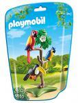 PLAYMOBIL 6653 - Papageien und Tukan im Baum