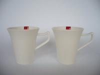 """Kaffeebecher 0, 3ltr. """" Harmony"""" 2er Set"""