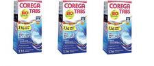 Corega Tabs mit Bioformel, 3er Pack (3 x 136 Stück)
