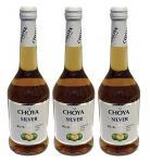 """CHOYA SILVER alc. """" Pflaumenwein"""" Japan Ume Fruit 3er Pack"""