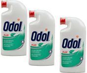 3x Odol Mundspülung Plus Pflege Für Das Zahnfleisch 125ml Antibakteriell