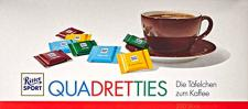 Ritter Sport Quadretties Thekendisplay 1000 g, 1er Pack (1 x 1 kg)