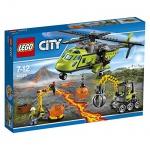 LEGO City 60123 - Vulkan-Versorgungshelikopter