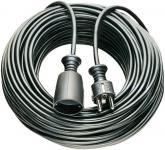 brennenstuhl® Verlängerungskabel 3 m, schwarz
