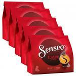 Senseo Kaffeepads Klassisch / Classic, neues Design, Intensiver & Vollmundiger Geschmack, Kaffee, 5er Pack, 5 x 16 Pads