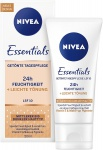 Nivea Gesichtscreme Getönte Tagespflege 24h Feuchtigkeit 50ml