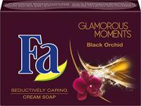 Fa Glamorous Moments Festseife, Black Orchid, 6er Pack (6 x 100 g)