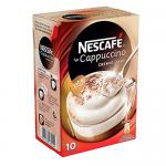 Nescafé Typ Cappuccino Cremig zart, Löslicher Kaffee, Faltschachtel mit 10 x 14g Portionsbeutel (4er Pack)