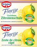 Dr. Oetker Finesse Geriebene Zitronenschale, 11er Pack (11 x 12g)