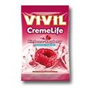 Vivil Creme life Classic Himbeer Bonbons Geschmack ohne Zucker 110g