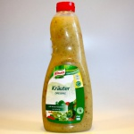 Knorr Kräuter Dressing, klares Salatdressing mit Dill und Petersilie 1l