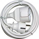 Verl.Kabel 5m H05VV-F3G1.5 wei