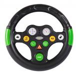 Big 800056488 Bobby cars und Zubehör Traktorensounds Wheel, schwarz grün
