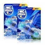 2x Henkel WC Frisch Blau Kraft Aktiv Ozean Frische für blaues Wasser