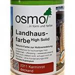 Landhausfarbe karminrot 750ml