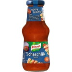 Knorr Schlemmersauce Schaschlik perfekt für gegrilltes Fleisch 250ml
