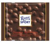 Ritter Sport Dunkle Voll Nuss Menge:100g