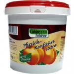 Pfirsich Konfitüre extra (50% Fruchtanteil), 3 kg Eimer