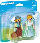 PLAYMOBIL 6843 - Duo Pack Prinzessin und Magd