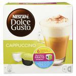 Nescafe Dolce Gusto Cappuccino, 16 Kapseln für 8 Getränke, 200 g