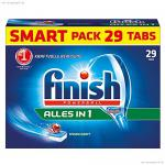 Finish Calgonit Alles in 1, Spülmaschinentabs, 29 Tabs