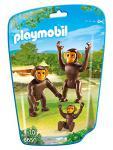 PLAYMOBIL 6650 - 2 Schimpansen mit Baby