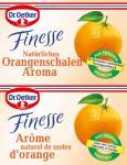 Dr. Oetker Finesse Natürliches Orangenschalen Aroma, 11er Pack (11 x 12g)