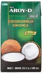 Kokosmilch Aroy-D natürliche Kokusmilch zum Backen und Kochen 1000ml 6erPack