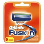 Gillette Fusion Klingen, 8 Stück