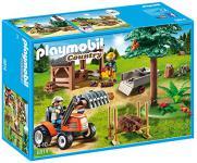 PLAYMOBIL 6814 - Holzfäller mit Traktor