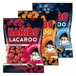 Haribo Lacaroo 3er Set Cramberry Meersalz und Toffee