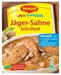 Maggi Fix Jäger-Sahneschnitzel, 19er Pack (19 x 30 g Beutel)