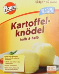 Pfanni Kartoffelknödel im Kochbeutel 1.30 kg 40 Stück, 1er Pack (1 x 1.3 kg)