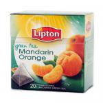 Lipton Grüner Tee Mandarin Orange 6x20 Pyramide Teebeutel