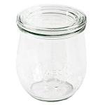 Einkochglas 1/5 l Mini-Tulpe Rundr.60