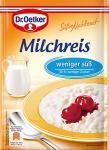 Dr. Oetker Milchreis weniger süß, 112 g