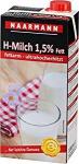 Naarmann H-Milch, 1, 5% Fett