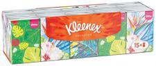 Kleenex Mini-Taschentücher Collection, 5er Pack (5 x 15 Packungen)